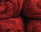 Cascade Sateen Worsted Yarn Skein Acrylic Machine Wash Soft Baby Yarn Fiber