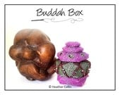 Beading Pattern, Instructions, Tutorial, Peyote Stitch, Delica Beads, Beaded Heaxogonal Box withTiered Lid Instant Download BUDDAH BOX