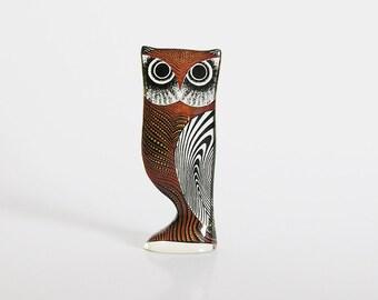 Abraham Palatnik Lucite Owl Figurine -60s