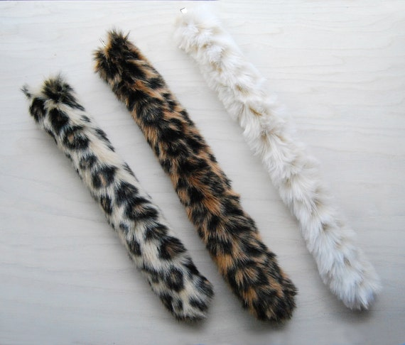 Play Leopard Tail - Jungle Cat - Ocelot - Jaguar Tail- Perfect for dress up or cosplay