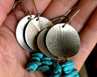Sterling and Turquoise Earrings - Summer Souvenirs
