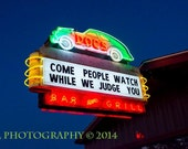 Austin Texas Photography Doc's Neon Bar Sign Night Life Fine Art