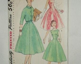 Vintage Simplicity Pattern, Misses' Dress Jumper & Jacket, 1674 Size 18