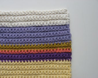 color block pot holder