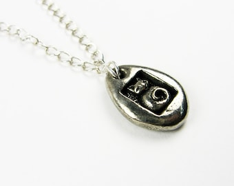 Cat Necklace - Cute Kitty or Kitten Pendant for Tween - Animal or Pet Lover Gift with Secret Message on Back