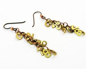 Math Earrings: Number Jewelry for Math Geek, Teacher, Statistics, Engineer Gift