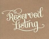 Reserved for Sender: Sugey Reyes