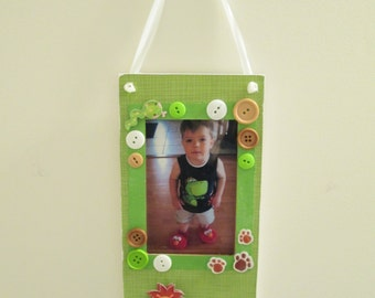 4x6 Animal Themed - Hand Decorated Hanging Picture Frame