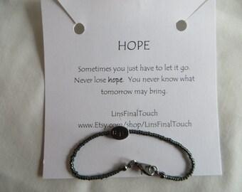 Hope Bracelet - Any Size, Bracelet, Hope