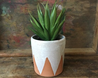 Geometric Deco Succulent Planter  |  Made to Order