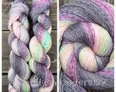 Hand Dyed Yarn, Gradient Yarn, Heathered Yarn, Fingering Weight Yarn, MADE TO ORDER