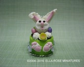 12th scale miniature Easter Bunny Cake