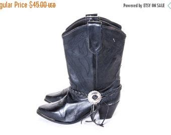30% OFF Rocker COWBOY Boot Size 7 women's