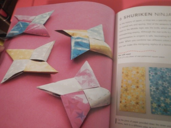 origami for book amp paper pack with 35 projects 61 pieces