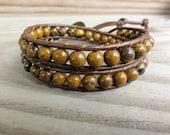 Tiger Iron TRIPLE Wrap Bracelet