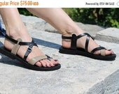 LAST SALE 20% OFF Two Colors Leather Handmade Sandals, Sexy European Style Gladiator Roman Greek Sandals- Miracle Ii