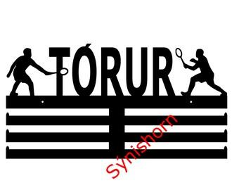 Badminton - strákar (hengi fyrir verðlaunapeninga)