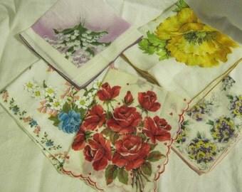 Floral Hankies