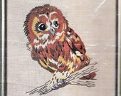 "Sultana The Quality Line ""Guess Hoo"" Owl on Branch Undone"