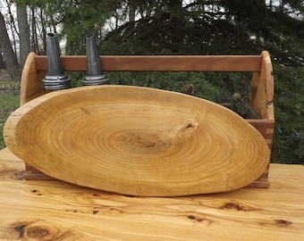 large cutting board/ live edge/ centerpiece /wood/ natural edge/ serving food board/ solid cherry