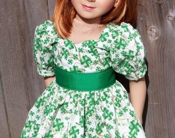 Shamrock Dress for My Twinn 23 Inch Dolls