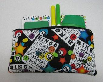 Bingo Pencil Or Cosmetic Case