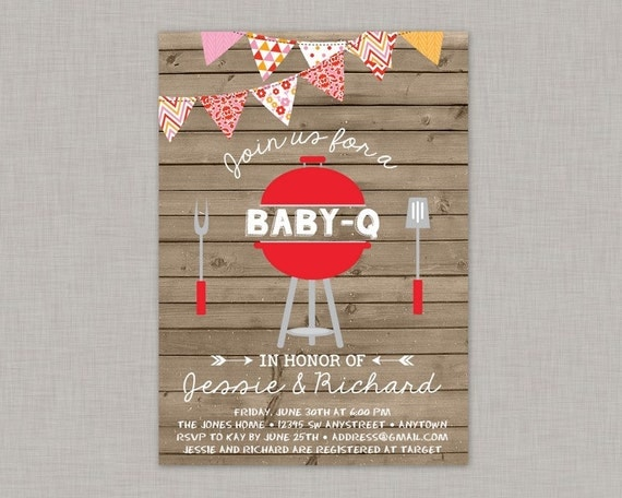Bbq baby shower invitation baby q invitation coed baby shower il570xn filmwisefo Gallery