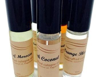 MADAGASCAR - Natural Cologne Oil - Pocket Size Roll-On 10ml - Gifts Under 10