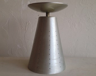 Mid Century Modern Perforated Cone Light