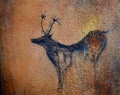 Man Cave Art 3 piece grouping of Original Paintings by Published American artist Laura Sue