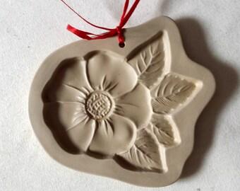 Vintage Brown Bag Cookie Mold - Blossom - 1994