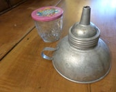 Vintage Canning Funnel with screw-on attachment