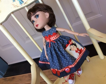 Doll clothes, Tonner, Patience, spunky girly pocket, ooak