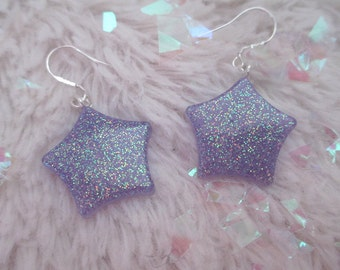 Twinkle Earrings {purple}