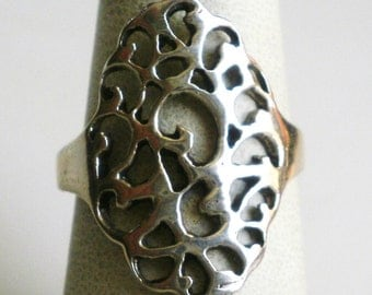 Sterling Silver Ring-Size 6 3/4