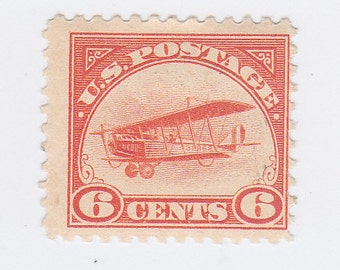 Mint C1 Curtiss Jenny Airmail US Postage Stamp
