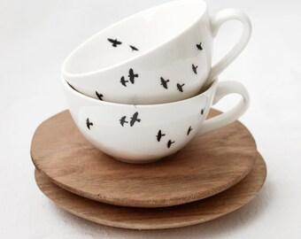 Bird Espresso Cup Set