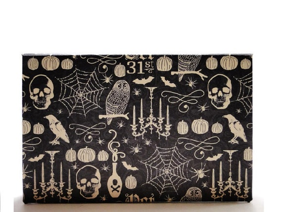 Halloween Magnetic Makeup Palette Goth Eyeshadow Empty