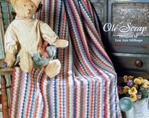 20%OFF The Needlecraft Shop OLE SCRAP By Lou Ann Millsaps - Crochet Afghan Collector's Series Pattern
