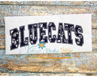 Bluecats Arched
