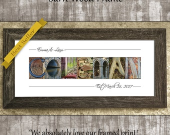 Wedding Gift Ideas, Wedding Gift for Wife, Last Name Sign, Wedding Gift Idea for Couples, Alphabet Photography, Wedding Gift for Parents