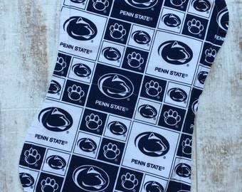 Penn State Baby Burp Cloth - Penn State Baby Gift - Penn State Burp Rag - Flannel Burp Cloth - Penn State Baby Girl - Penn State Baby Boy