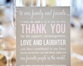 Custom Listing - 250 Thank you Cards