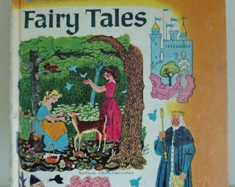 1967 - Dandelion Library 2 in 1 book: Grimms Fairy Tales and Babar the King