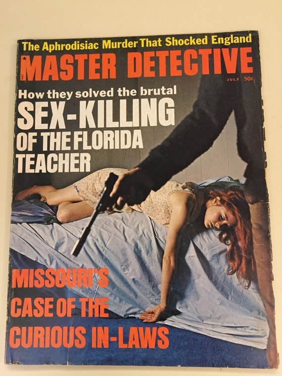 Master Detective July 1970 Issue Crime Magazine Collectible