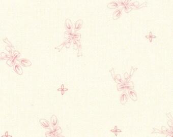 Ooh La La Silver Spoon by Bunny Hill - Cream Pink Spoon - Moda 2834 12