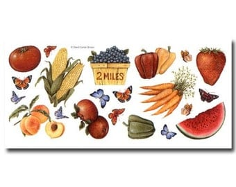 Farm Market Stand Fruit & Veggies Vegetables