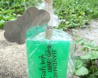 lime soap sickle, bath, beauty, kids soap, ice cream soap, lime soap, normas bath, party favors, soap favors