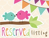 RESERVED for Sadie (Ice cream Photo banner & Favor tags)