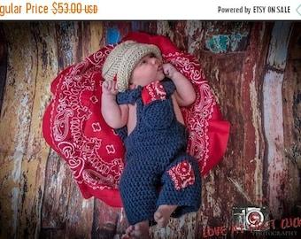 sale Newborn farmer set..